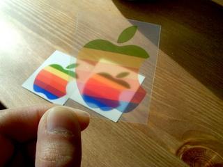 アイボリーのFire Kingに虹色林檎でOld Mac4
