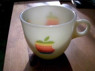 アイボリーのFire Kingに虹色林檎でOld Mac8