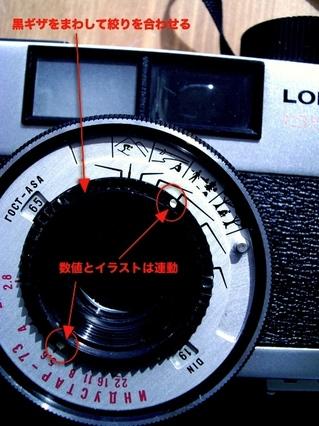 LOMO 135 Mの使い方と写真3