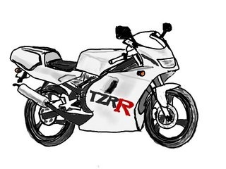 TZR50Rイラスト