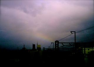 Polaroid izone550『あの日は朝も虹だった!』2
