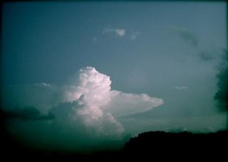 Polaroid izone550『ぷかぷかアヒルちゃん雲』