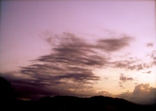 Polaroid izone550 『七夕あみかざり雲』
