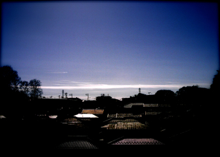 Polaroid izone550,a520『水平線みたいな雲』1