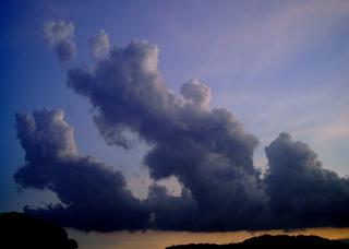 Polaroid a520,izone 550『ハイハイ夏ですよ!雲』1