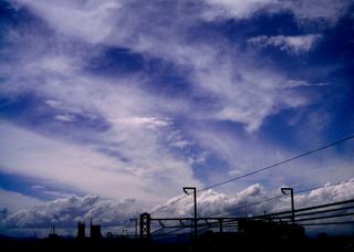 Polaroid a520,izone 550『ハイハイ夏ですよ!雲』2
