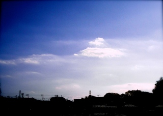 Polaroid a520,izone550『奇々怪々な雲〜〜〜〜』4