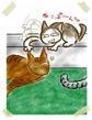 日めくり猫ら番外編・その他らくがき写真まとめ 2011年7月分3