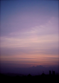 Polaroid a520,izone550『静かな気分になりそうな雲』1