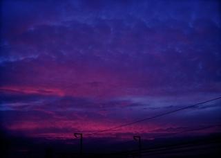 Polaroid izone550『うわゎ明日なんかくる...!!? ような気がする雲』2