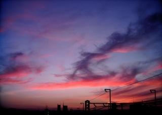 Polaroid izone550『うわゎ明日なんかくる...!!? ような気がする雲』3