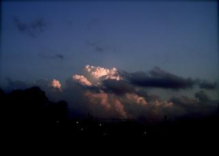 Polaroid a520,izone550『ラピュタ観たくな〜る積乱雲と予備軍』polaroid izone 550_1
