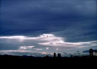 Polaroid a520,izone550『静かな気分になりそうな雲』2