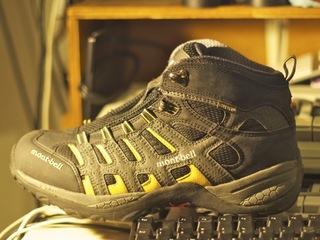 モンベル登山靴GORETEXmontbell