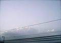 Polaroid a520,izone550『みおさめ?溶けゆく夏雲...』polaroid_izone550