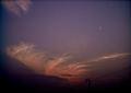 Polaroid a520,izone 550『うんにゃり雲』1