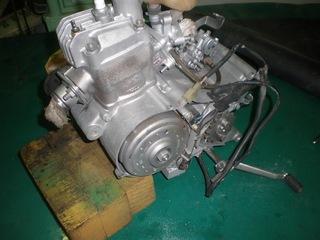 NSR50エンジンバラし1