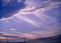 Polaroid a520『幻想的〜ぃな雲』1