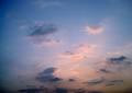 Polaroid izone550『幻想的〜ぃな雲』1