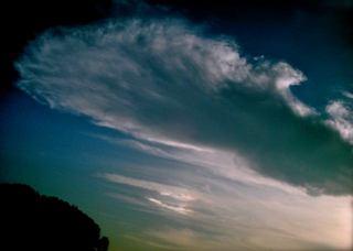 Polaroid a520『ちょい虹は、幻想的ぃ〜な雲の下に』3