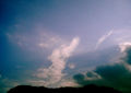 Polaroid a520『ぐるぐるひねり雲』1