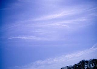 Polaroid izone550『天使の羽っぽい雲』1