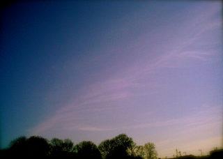Polaroid izone550『天使の羽っぽい雲』2