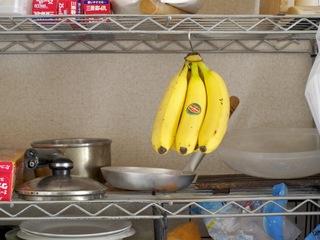 自作バナナスタンド1