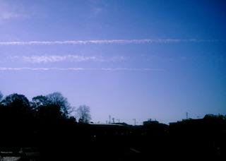 Polaroid a520『平行線な雲その1』