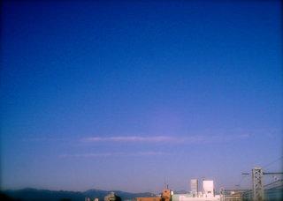 Polaroid a520『平行線な雲その1』2