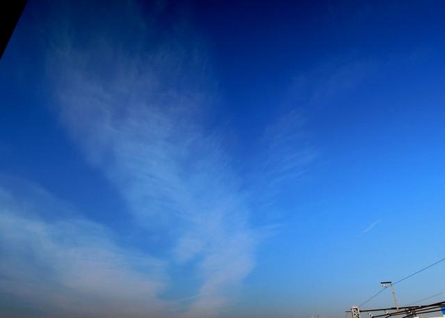 Nikon P300『がばっっ!と出た雲』