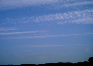 Polaroid a520『平行線な雲その2』