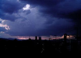 Polaroid izone550『平行線な雲その2』2