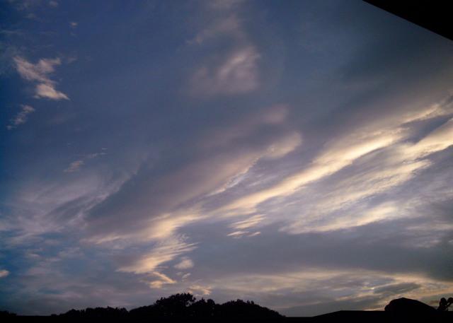 Polaroid a520『広ーーーーい雲』-1