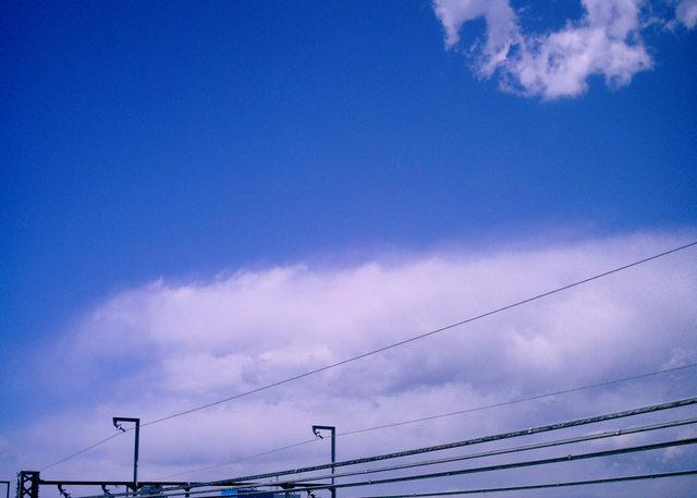 Polaroid a520『しゅわっと溶ける雲』-1