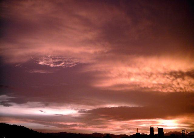 Polaroid izone550『広ーーーーい雲』-2
