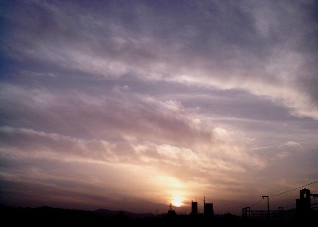 Polaroid izone550『広ーーーーい雲』-1
