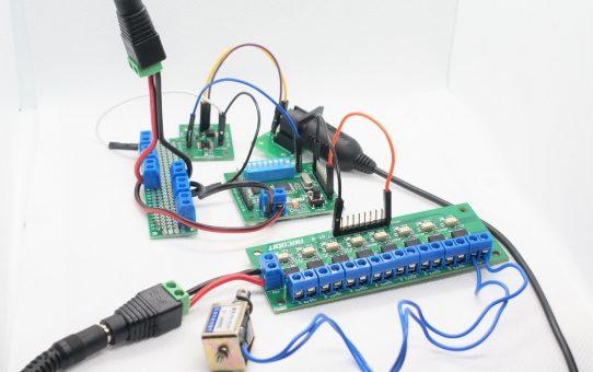ソレノイドの制御-MIDIメカニカルシステム具体例1-
