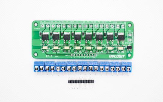 DT-8 Rev.2(Digital to Transistor 8port)[MIDIメカニカルシステム]
