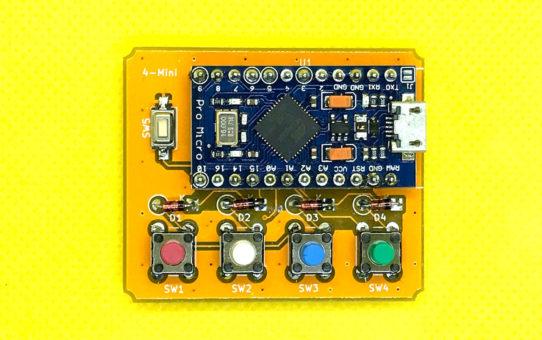 4-Mini 極小自作キーボードキット