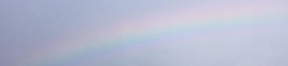 Nikon P300『なないろ数えられそうな虹』
