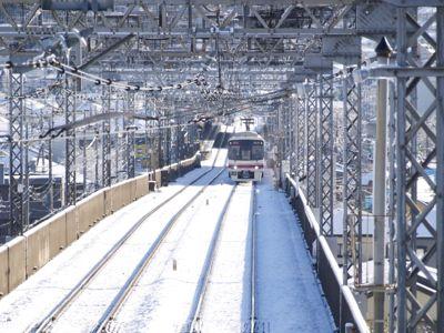 雪電車GIF1