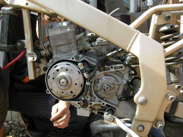 NSR50、ついにエンジン始動! -Nチビ復活計画-