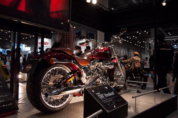 東京モーターサイクルショー2013 アメリカン (PENTAX K-7)