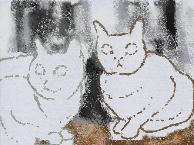Nintendo 3DS LL_Cat Sketch_20130529.jpg