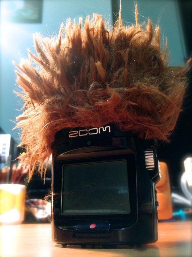 ZOOM H2n用ウィンドジャマーを自作!