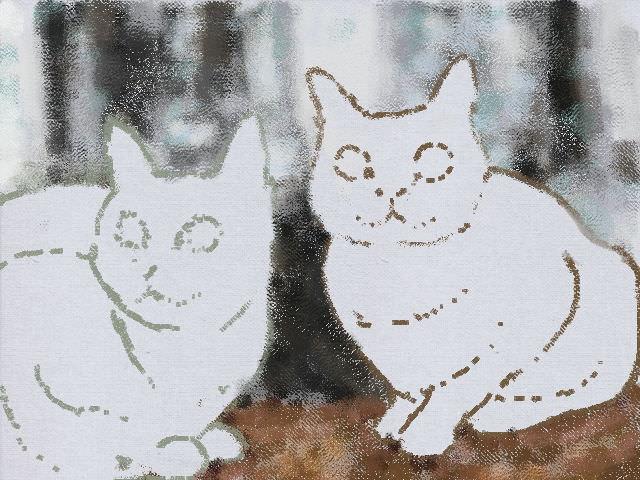 Nintendo 3DS LL_Cat Sketch_20130531.jpg