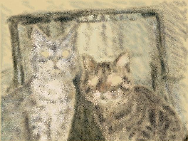 Nintendo 3DS LL_Cat Sketch_20130624.jpg