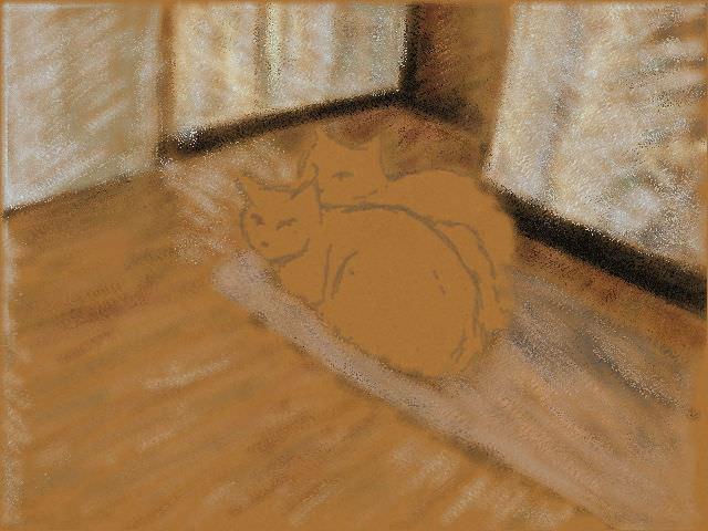Nintendo 3DS LL_Cat Sketch_20130710.jpg