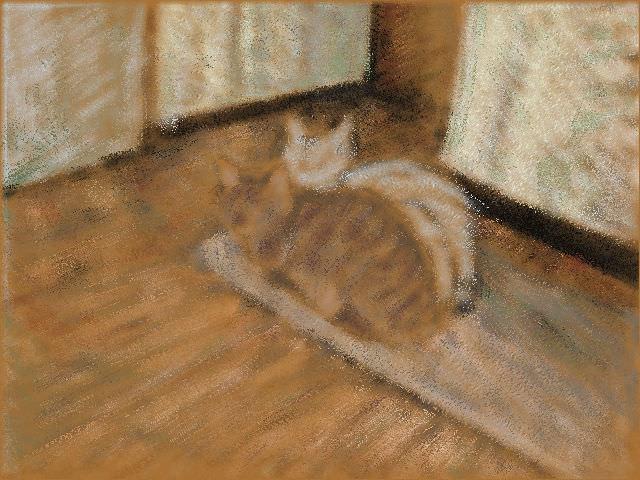 Nintendo 3DS LL_Cat Sketch_20130714.jpg